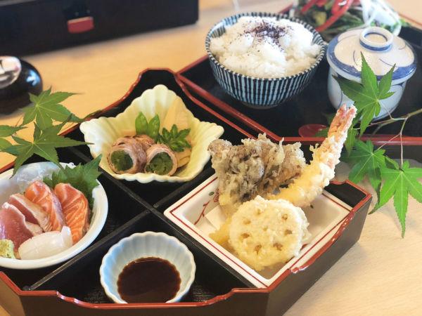 天ぷら楓の花の御膳