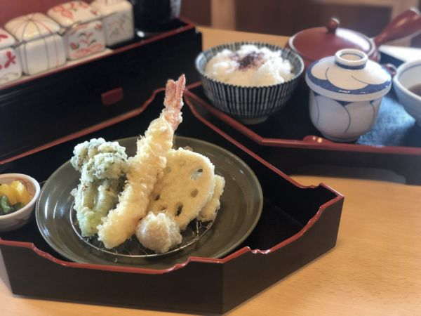 天ぷら楓の半天御膳