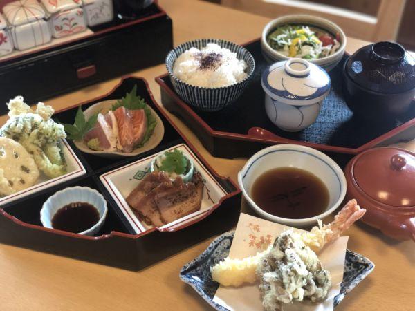 天ぷら楓の梅御膳