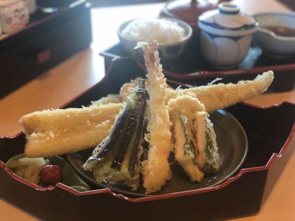 天ぷら楓の「楓の天ぷら御膳」